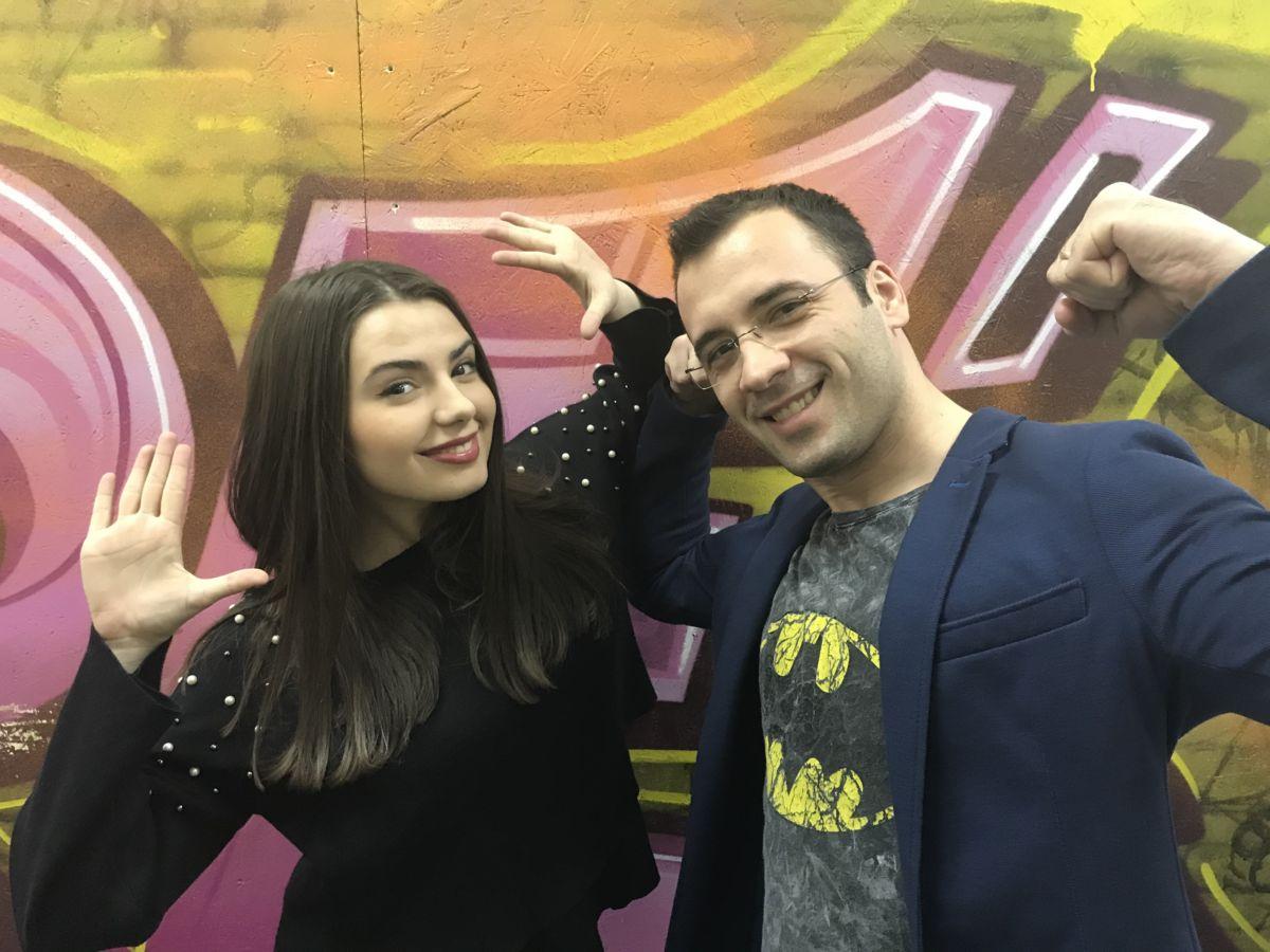 Cristina Iancu și Daniel Nițoiu